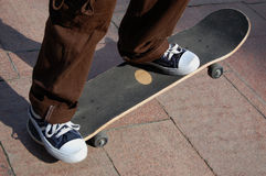 Skateboarder Stock Foto's