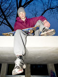 Skateboarder Stock Foto