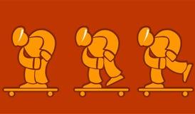 Skateboarder Fotografia Stock Libera da Diritti