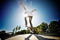 Skateboarder Stock Photography