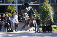 skateboarder Στοκ Φωτογραφία