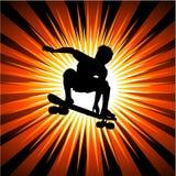 skateboarder Στοκ Εικόνα