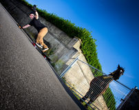 skateboarder Photo libre de droits