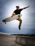 skateboarder Photographie stock libre de droits
