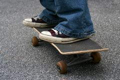 Skateboarder Royalty-vrije Stock Afbeelding