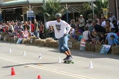 skateboarder royaltyfri fotografi