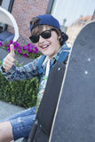 skateboarder Fotografía de archivo libre de regalías