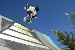Skateboarder Stock Photo