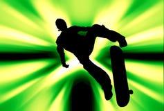 skateboarder ελεύθερη απεικόνιση δικαιώματος