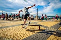 skateboarder Immagine Stock Libera da Diritti