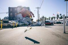 skateboarder Image libre de droits