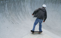 Skateboarder. With Room for Copy Space Stock Photo