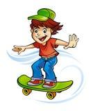 skateboarder Arkivfoton
