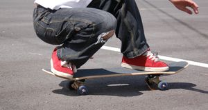 Skateboarder Royalty Free Stock Images