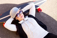 skateboarder Fotografia de Stock