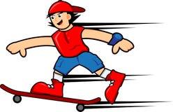Skateboarder boy Royalty Free Stock Photography