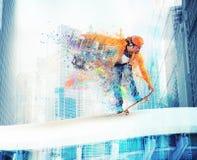 Skateboarder boy Stock Photography