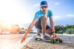 Skateboarder stock photos