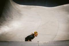 Skateboarder, het Strand van Venetië, Los Angeles royalty-vrije stock foto