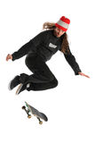 Skateboarder Jumping Stock Photography
