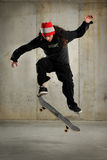 Skateboarder Jumping Stock Image