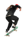 Skateboarder Jumping Royalty Free Stock Photos