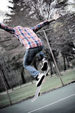 Skateboarder Ollie Royalty Free Stock Photos