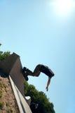 Skateboarder Silhouette Stock Images