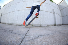 Skateboarder skateboarding Stock Photography