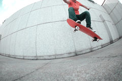 Skateboarder skateboarding Royalty Free Stock Images