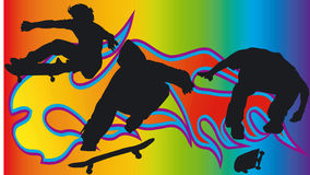 Skateboarder - Vector Stock Photos