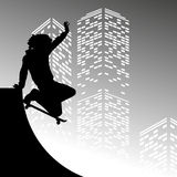 Skateboarder Stock Photography