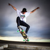 Skateboarder Royalty Free Stock Photography