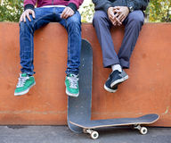 Skateboarders Royalty Free Stock Image