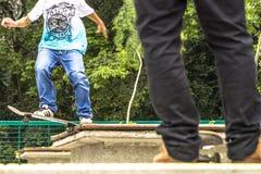 skateboarders Royaltyfria Foton