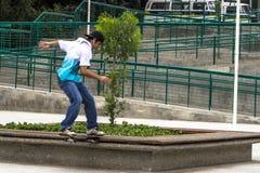 skateboarders Arkivbild