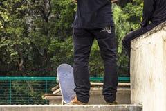 skateboarders Arkivfoto