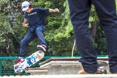 skateboarders Royaltyfri Foto