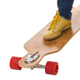 Skateboarders feet Royalty Free Stock Photo