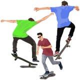 Skateboarders Royalty Free Stock Photos