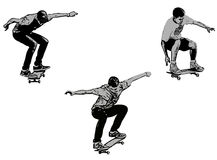 Skateboarders Royalty Free Stock Photography