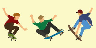 Skateboarders Royalty Free Stock Photos