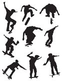 Skateboarders Two Stock Photos