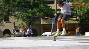 Skateboarders in Washington D.C. Stock Photos