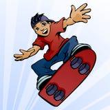 Skateboardfahrer Lizenzfreie Stockfotografie