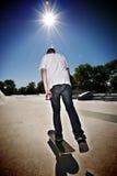 Skateboardfahrer lizenzfreie stockbilder