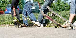 Skateboardfahrer Lizenzfreies Stockfoto