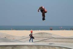 Skateboardfahrer in Los Angeles Lizenzfreies Stockbild