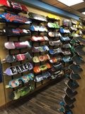 Skateboardgyckelsamling arkivfoton
