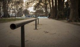 Skateboardhelling Stock Afbeelding
